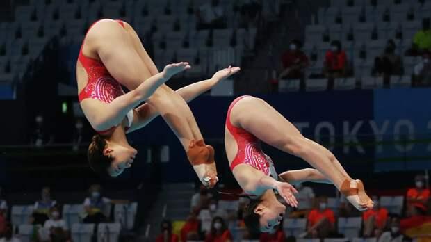 Ши Тинмао и Ван Хань стали олимпийскими чемпионками в синхронных прыжках в воду