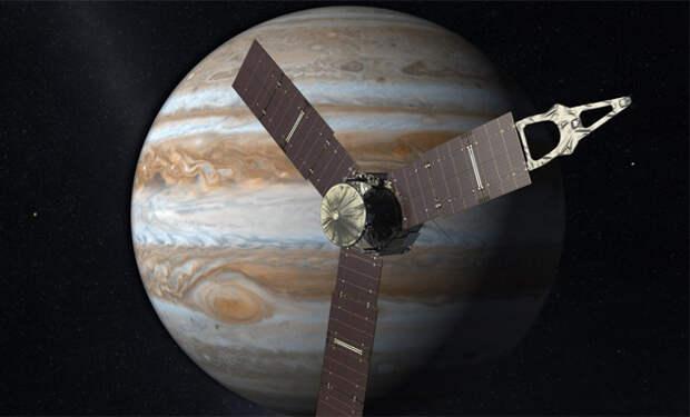 Невероятный шторм на Юпитере попал в объективы NASA