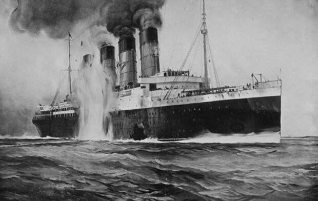 Гибель «Лузитании»: главное преступление немецких подводников
