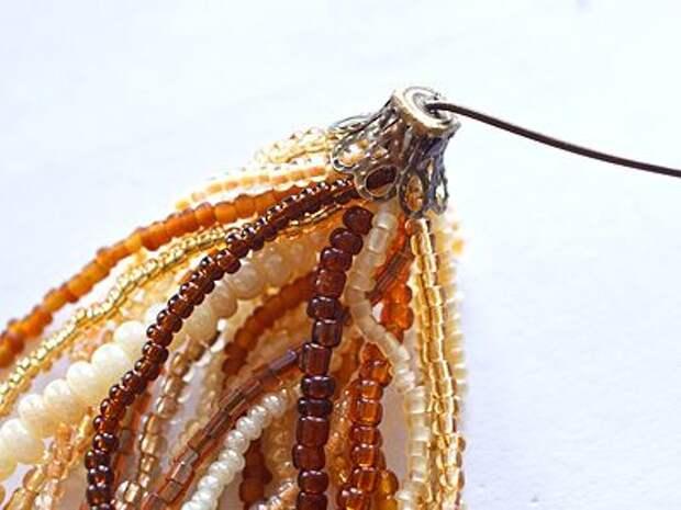 Создание многорядных бисерных бус