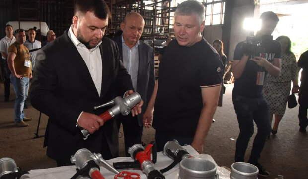 Пушилин проверил работу возродившегося крупного завода
