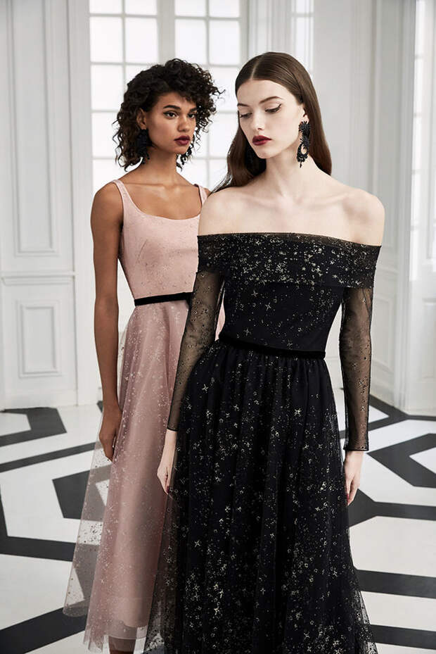 Маркиза драмы: модная коллекция Marchesa Notte осень 2019, фото № 6