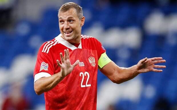 Дзюба победил в голосовании за самого яркого игрока первых матчей квалификации ЧМ-2022