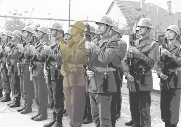 «Немецкий офицер сказал нашему офицеру: « Надо стреляйт! »