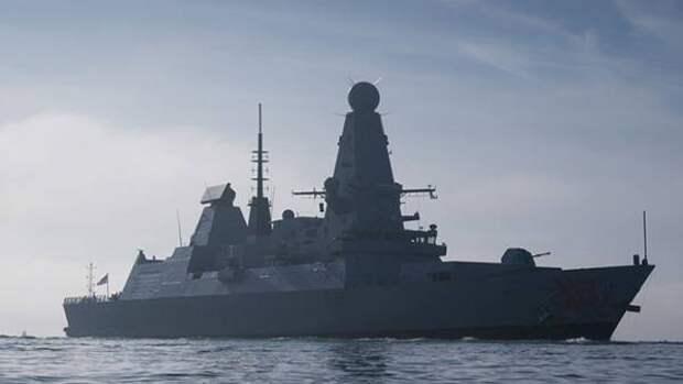 Черноморский флот следит за эсминцем Dragon ВМС Великобритании в Черном море