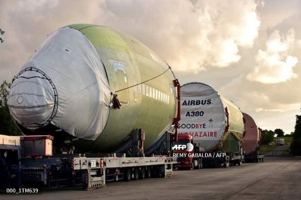 Airbus собрал последний самый крупный в мире пассажирский самолет А380