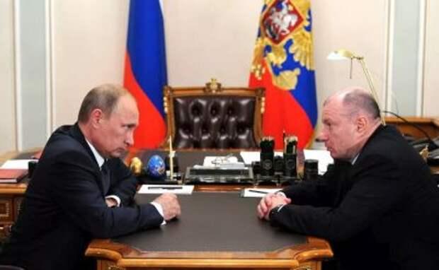 """Потанин рассказал Путину о планах развития """"Норникеля"""", реализации обязательств в соцсфере"""