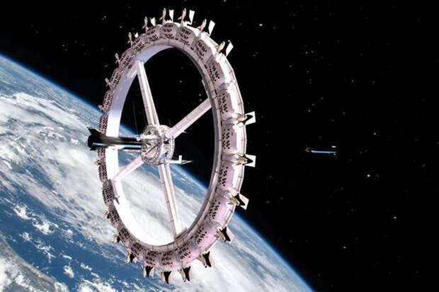 Неземной отдых: первый космический отель откроется уже в 2027 году