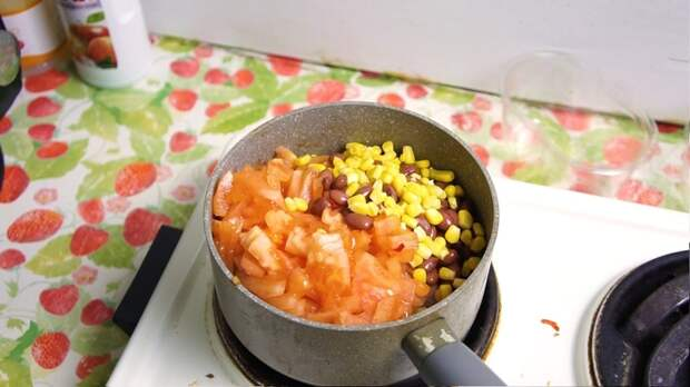 Суп-чили. Просто. Вкусно. Мексикано. Видео рецепт, Рецепт, Лига Кулинаров, Кулинария, Чили суп, Мексика, Еда, Видео, Длиннопост