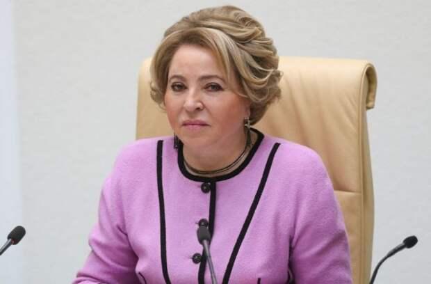 Матвиенко планирует в апреле посетить Казахстан