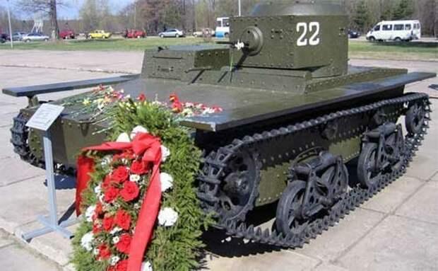 На фото - Т-38М (?) серийный Исто́рия, военное, плавающие танки, советские танки, танки, танки РККА