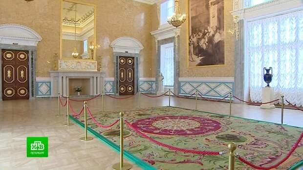 Личные покои Павла I в Михайловском замке впервые открывают после реставрации