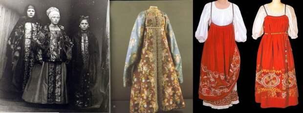 Мода на Руси: Сарафан, сборник, душегрея и другая праздничная одежда русских крестьян