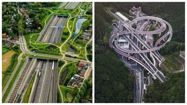 35 шедевров инфраструктуры, красоту которых оценит каждый