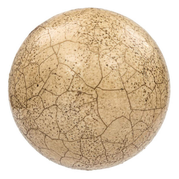 Трещины, образованные двухкомпонентным кракелюрным лаком