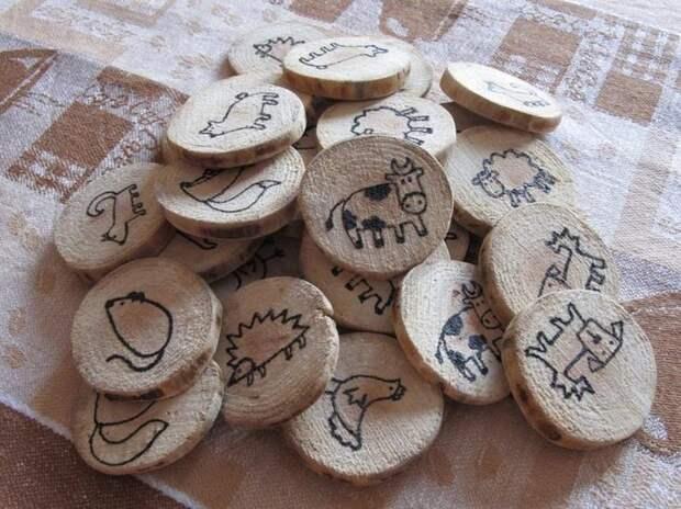 Оригинальные идеи применения древесных спилов