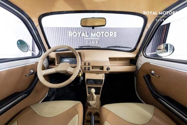 Необычный ЗАЗ-965А: кузов Запорожца натянули на Оку