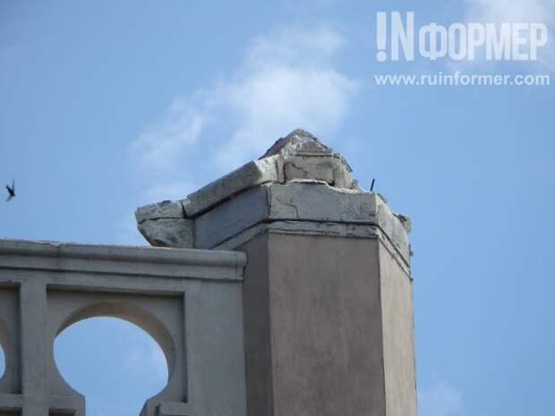 В Севастополе разваливается «Ракушка»