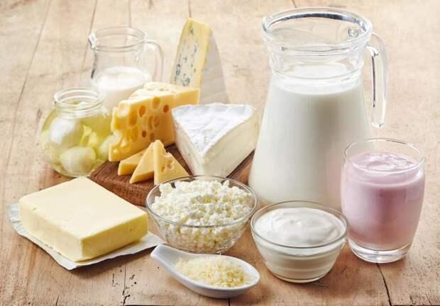 Молоко и кисломолочные продукты. \ Фото: whatshot.in.