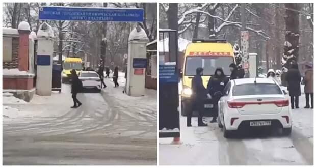Автохам на иномарке не пропускал детскую реанимацию ynews, авто, автохам, видео, интересное, скорая, фото
