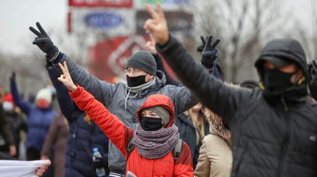 МВД Белоруссии заявило о снижении числа протестующих