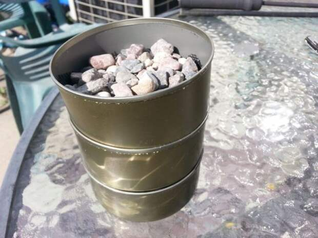 Фильтр для очистки воды из консервных банок