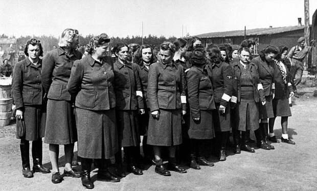 Какой отбор проходили женщины для службы в СС