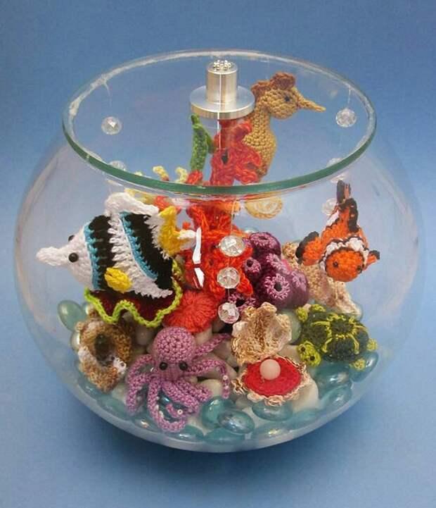 Вязаные аквариумы