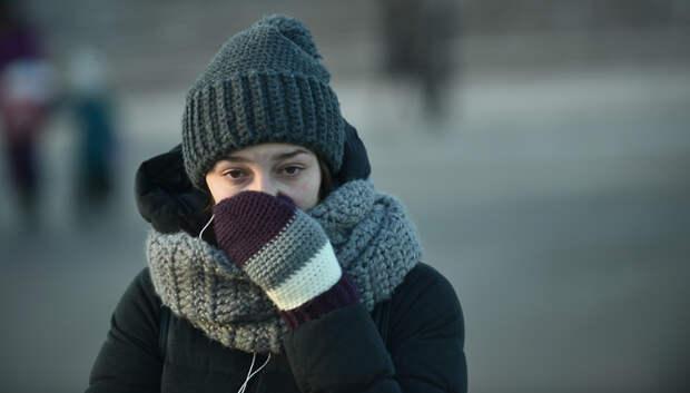 В Московском регионе 31 марта похолодает до минус 7 градусов