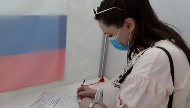 Явка на голосовании по Конституции в Подмосковье на 10:00 составила 62,53%