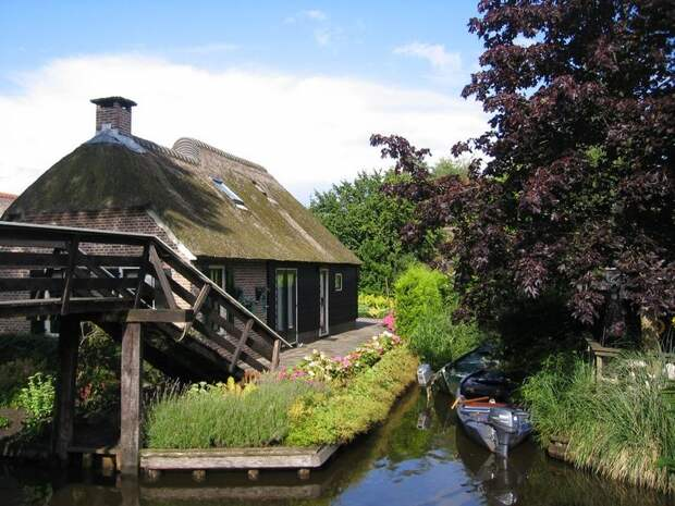 Giethoorn19 Гитхорн: деревня, где нет дорог