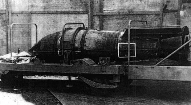 Ядерные глубинные бомбы холодной войны