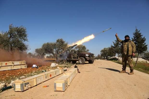 Сирийская армия при поддержке ВКС РФ атакует позиции террористов в Латакии и Идлибе