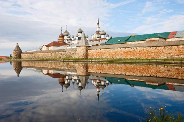 Соловецкий монастырь, Россия, Европа