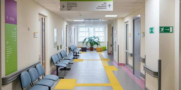Собянин осмотрел новое здание поликлиники на Ленинградском проспекте