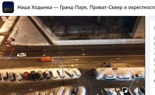 Ночные работы в Хорошевке проводятся из-за отсутствия машин — управа