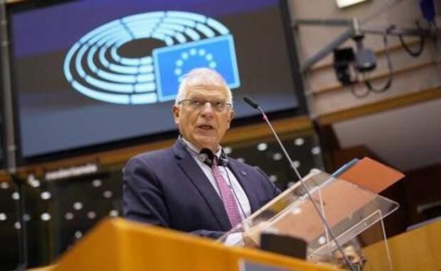 На фото: глава дипломатии Евросоюза Жозеп Боррель