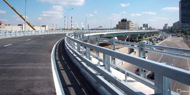 Собянин открыл участок СВХ между Ярославским и Открытым шоссе с развязкой на проспекте Мира