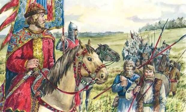 Существовало ли в древней Руси народное ополчение. Некоторые сравнительно-исторические наблюдения