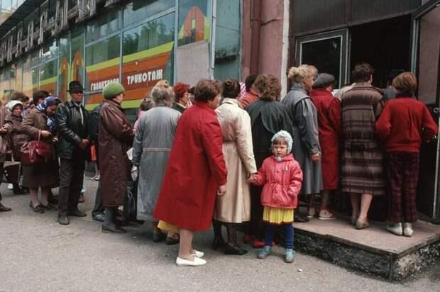 Последние годы СССР глазами американского фотографа. Ох и непростое было время!