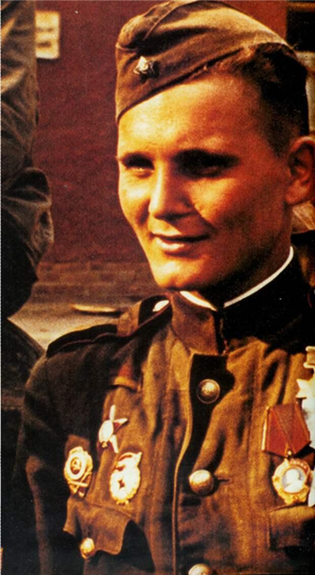 Солдаты-победители в Германии 1945. Уникальные цветные фото