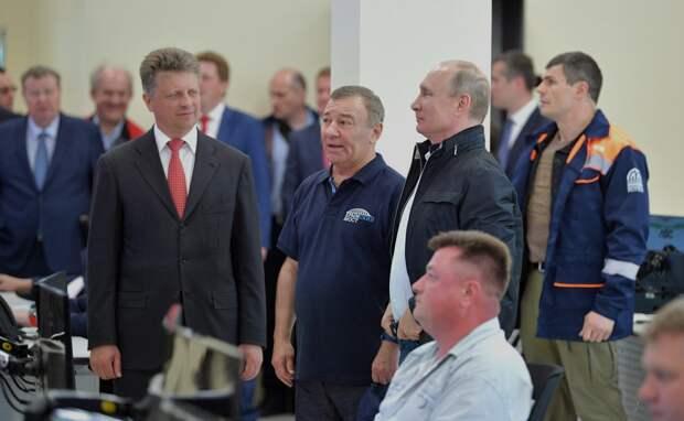 Ротенбергу присвоено звание Героя Труда за возведение Крымского моста