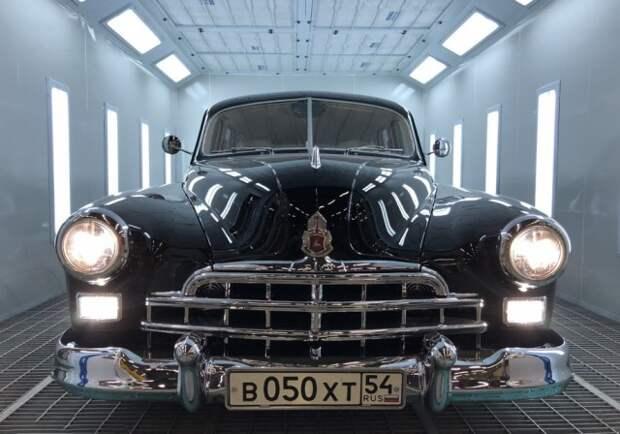 Уникальный ГАЗ-12 ЗИМ за 20 000 000 рублей