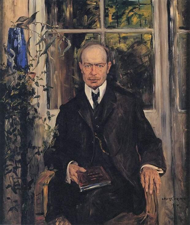 Lovis Corinth - Porträt Henry B. Simms