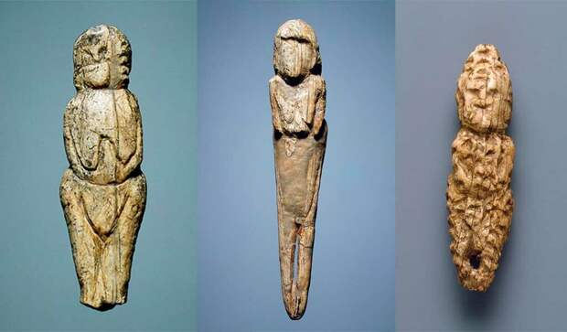 Венеры Мальтинские, возраст 24 тысячи лет, из бивня мамонта, Россия.