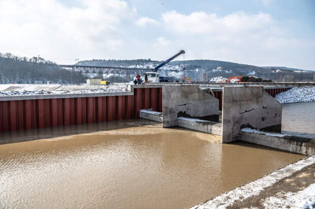 Начал работу водозабор на реке Бельбек