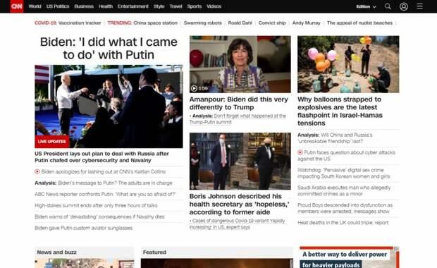 Строгое рукопожатие, толкучка журналистов и вопрос доверия: западная пресса обсуждает саммит в Женеве