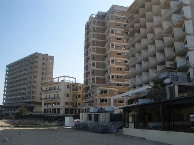 Кипр город призрак
