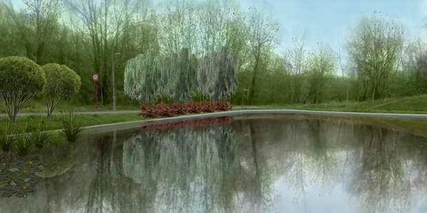 Кольский пруд на территории будущего парка «Яуза» благоустроят до конца года