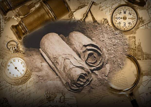 Медный свиток. Карта сокровищ или древняя сказка?